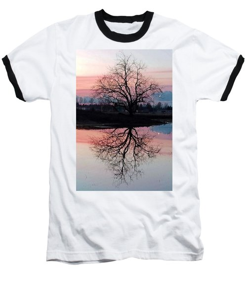 Serenity At Sunset Baseball T-Shirt