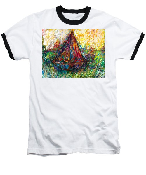Ship In Color Baseball T-Shirt