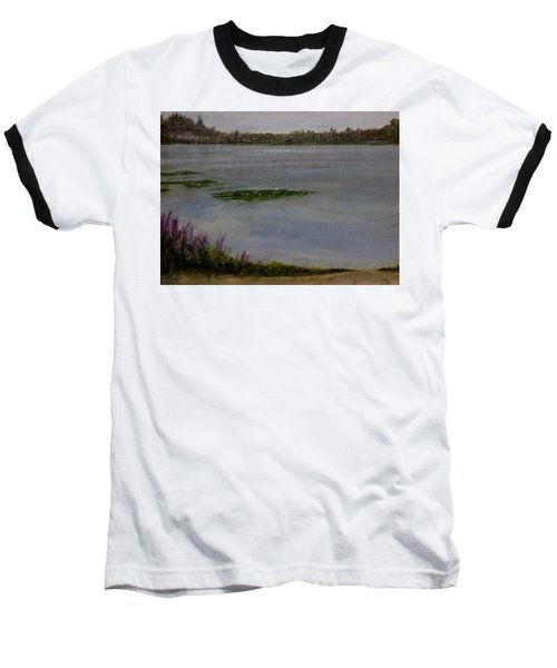 Silver Lake During The Wildfires Baseball T-Shirt