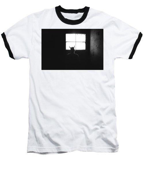 Smoking Lounge Baseball T-Shirt