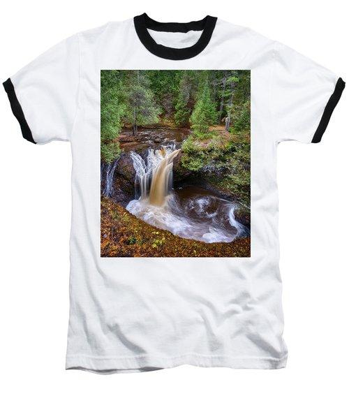 Snake Pit Falls Baseball T-Shirt