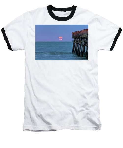 Snow Moon Baseball T-Shirt