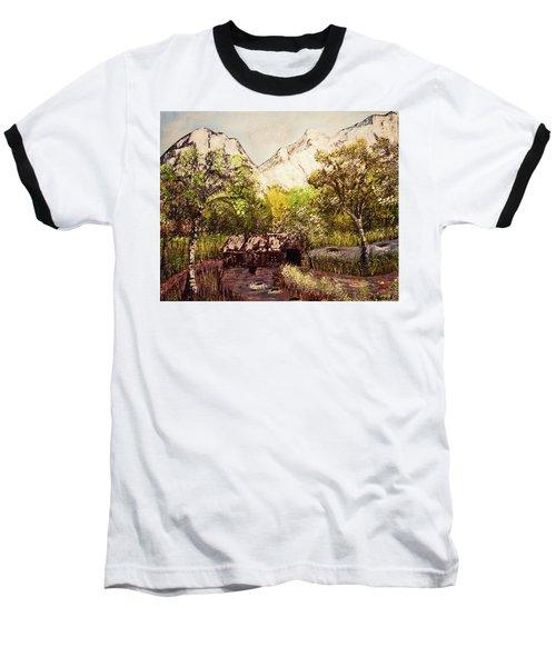 Snowy Day Baseball T-Shirt