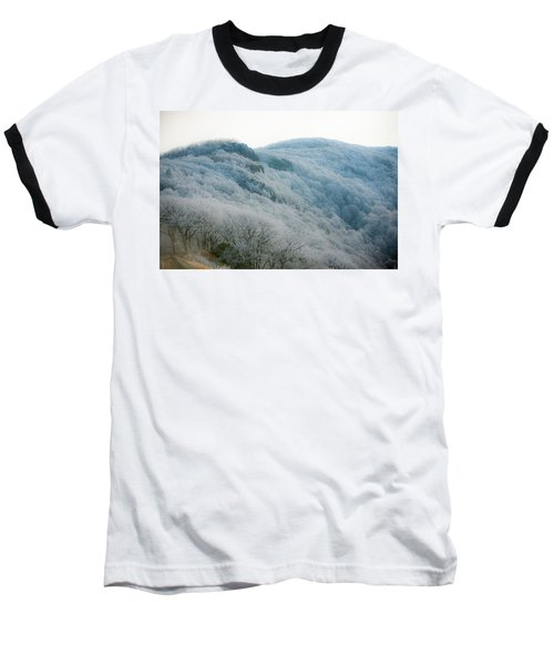 Soft Hoarfrost Baseball T-Shirt