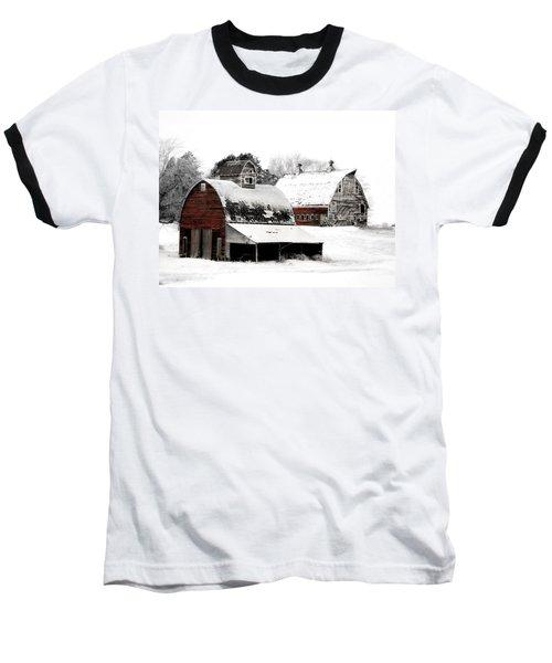 South Dakota Farm Baseball T-Shirt