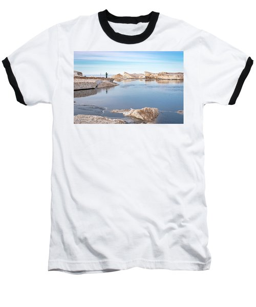 Spring Fishing Baseball T-Shirt