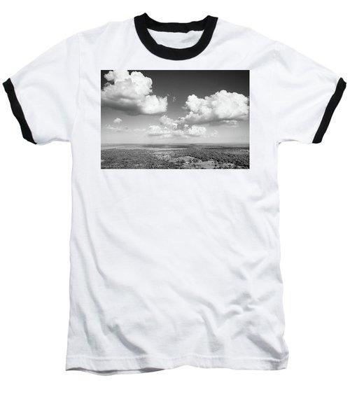 Sri Lankan Clouds In Black Baseball T-Shirt