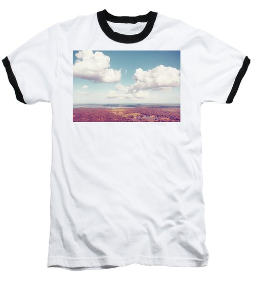 Sri Lankan Clouds In Pastel Baseball T-Shirt