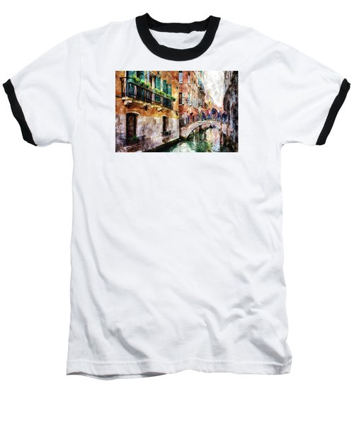 Baseball T-Shirt featuring the digital art Stories In The Air by Eduardo Jose Accorinti