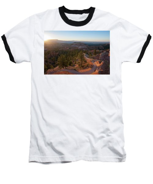 Sunrise Over Bryce Canyon Baseball T-Shirt