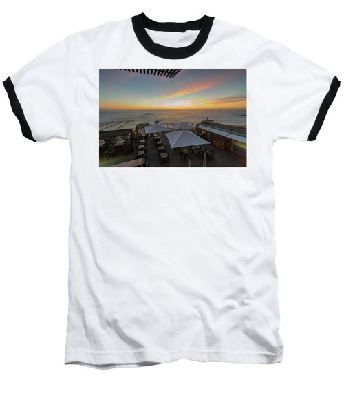 Baseball T-Shirt featuring the photograph Sunset Vibes by Bruno Rosa