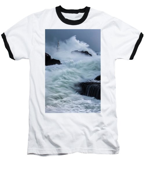 Swallowed By The Sea Baseball T-Shirt
