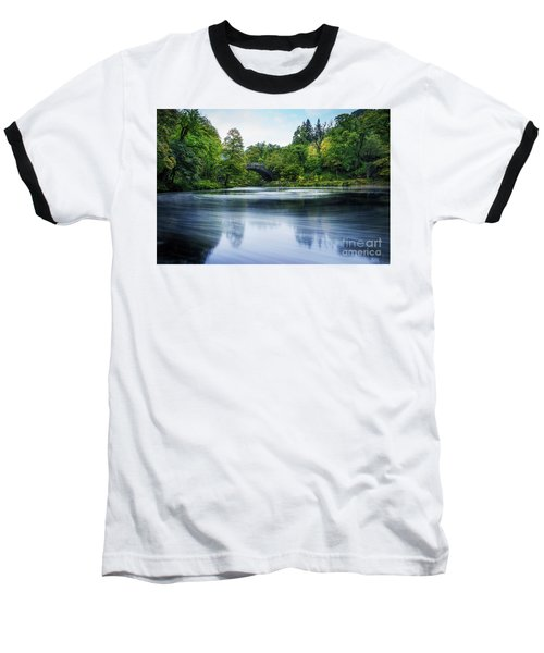 Swirling Dreams Baseball T-Shirt