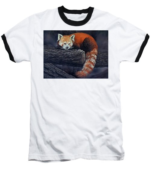Takeo, The Red Panda Baseball T-Shirt
