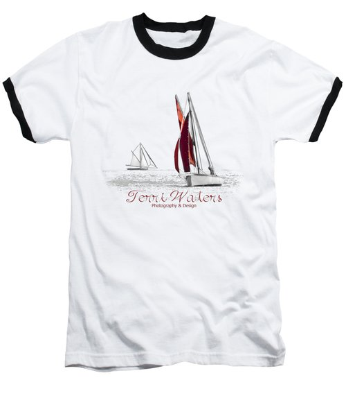 Terri Waters Photography And Design Logo Baseball T-Shirt