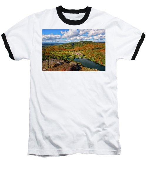 The Balsams Resort Autumn. Baseball T-Shirt