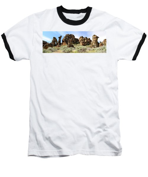 Arches Hoodoos And Castles The Big Picture Little City Of Rocks Baseball T-Shirt