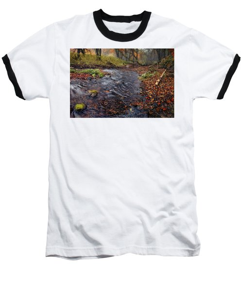 The Breath Of Autumn Baseball T-Shirt