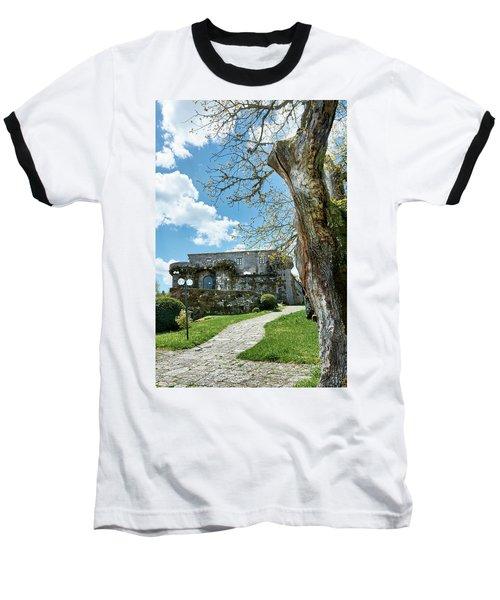 The Castle Of Villamarin Baseball T-Shirt