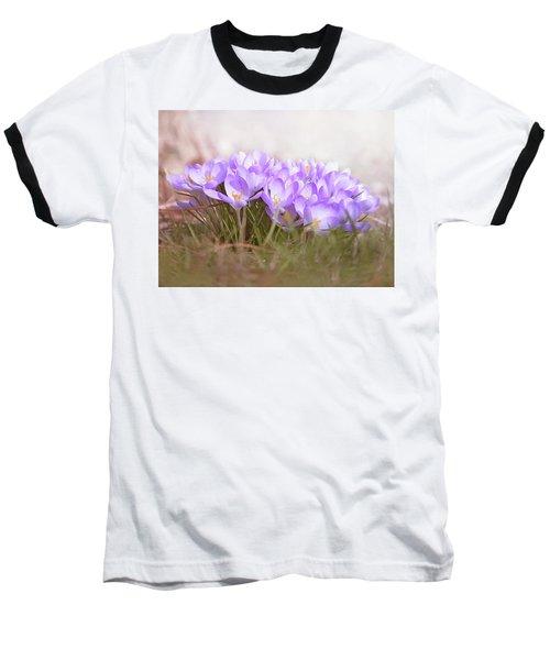 The Earth Blooms 2 Baseball T-Shirt
