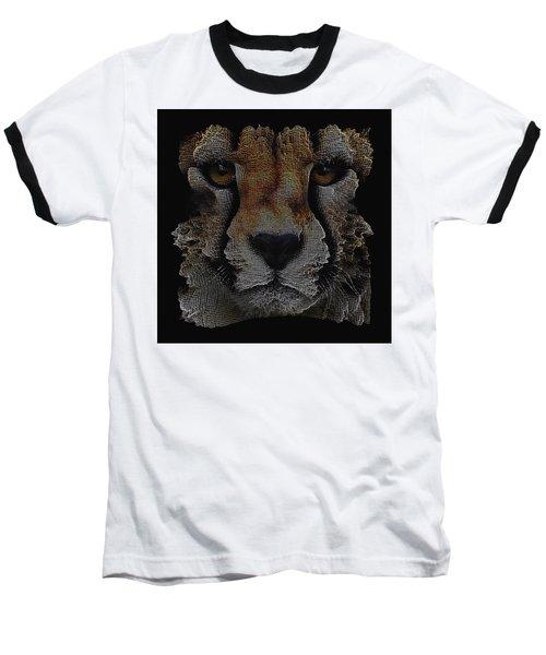 The Face Of A Cheetah Baseball T-Shirt
