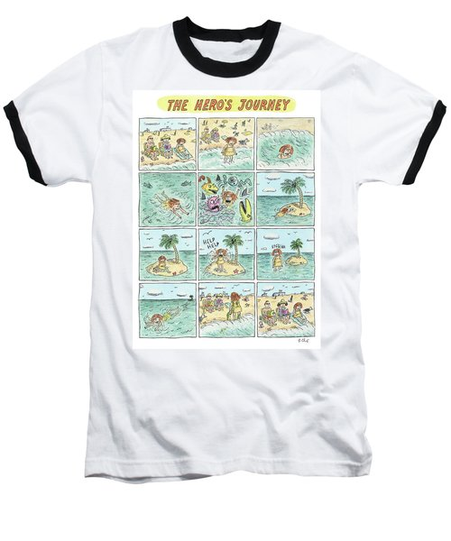 The Heros Journey Baseball T-Shirt
