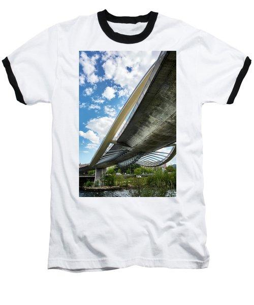 The Millennium Bridge From Below Baseball T-Shirt