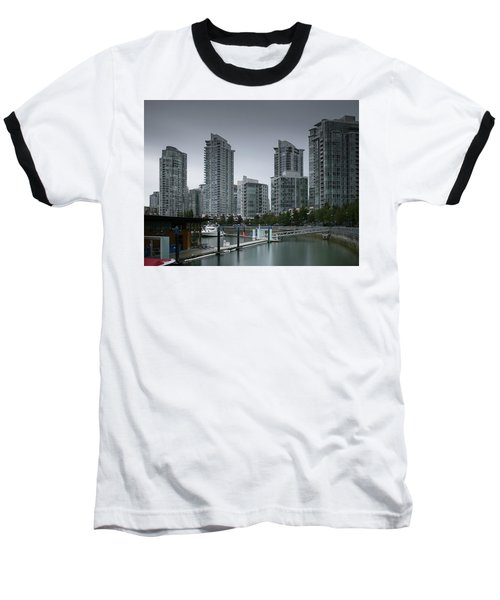 The Quayside Marina - Yaletown Apartments Vancouver Baseball T-Shirt