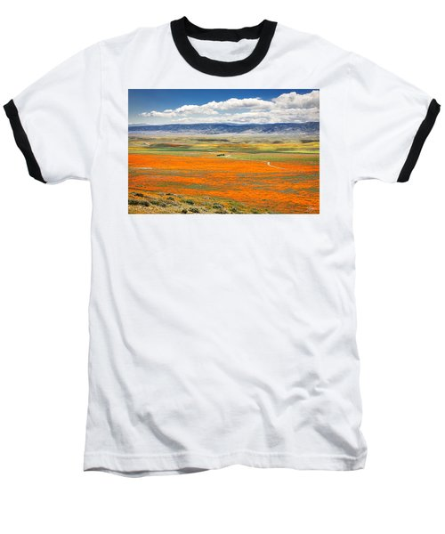 The Road Through The Poppies 2 Baseball T-Shirt