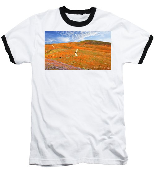 The Trail Through The Poppies Baseball T-Shirt