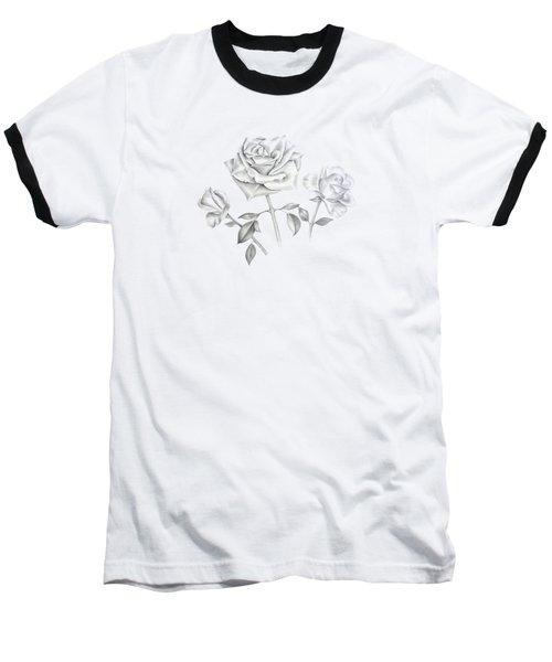 Three Roses Baseball T-Shirt