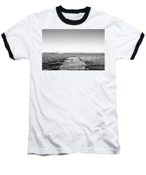 Baseball T-Shirt featuring the photograph Towards The Nahuel Huapi Lake by Eduardo Jose Accorinti