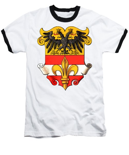 Triest Coat Of Arms 1467-1919 Baseball T-Shirt