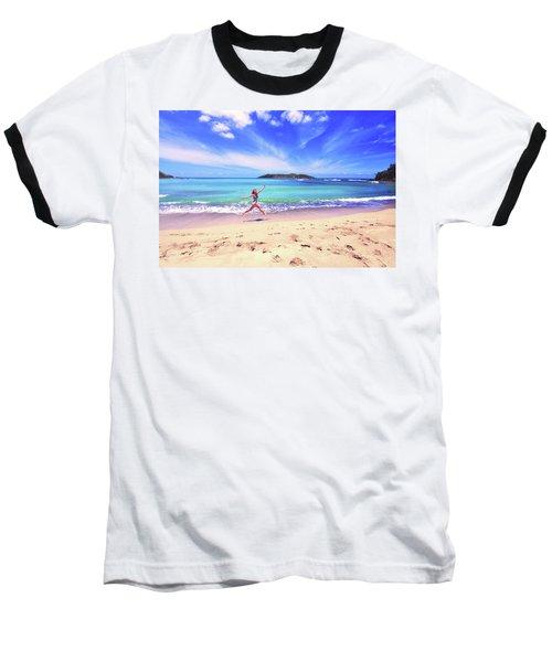 Tropical Spring Baseball T-Shirt