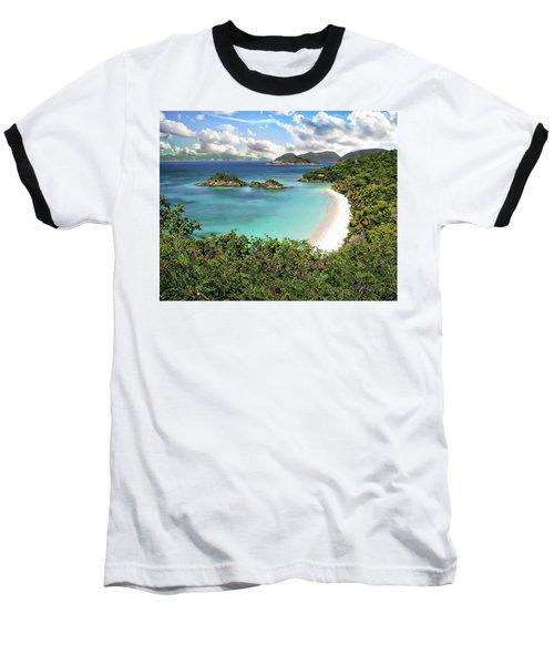 Trunk Bay Baseball T-Shirt