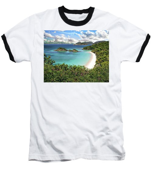 Trunk Bay Baseball T-Shirt