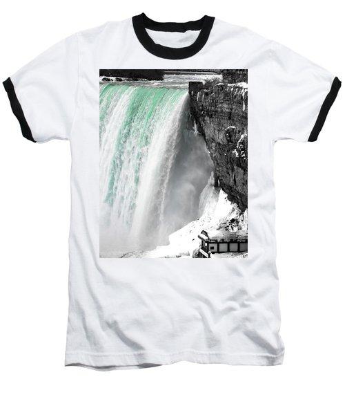 Turquoise Falls Baseball T-Shirt