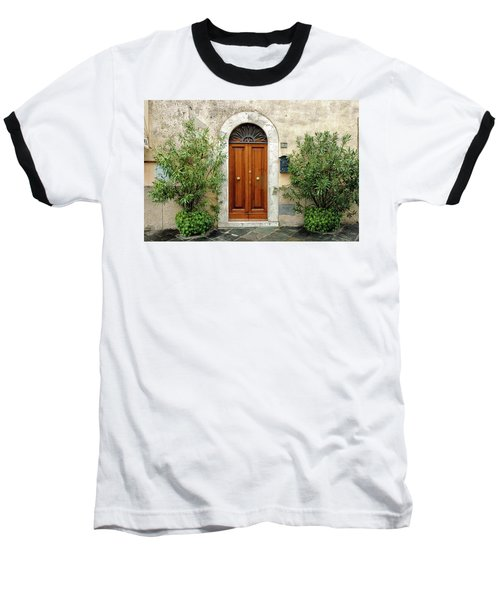 Tuscan Door Baseball T-Shirt
