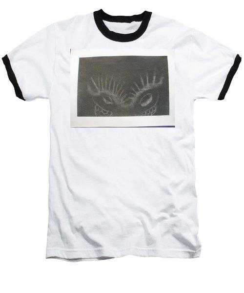 Upper Dragon Face Baseball T-Shirt