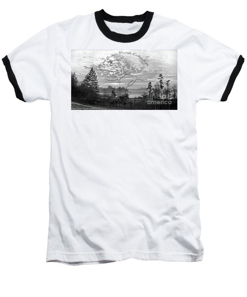 View Of Boston Harbor Baseball T-Shirt