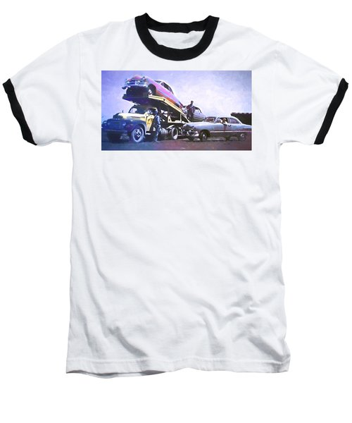 Vintage Ford Car Carrier Baseball T-Shirt