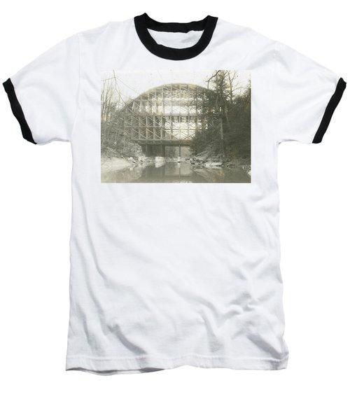 Walnut Lane Bridge Baseball T-Shirt