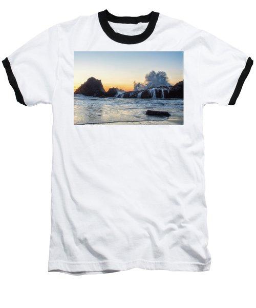 Wave Burst Baseball T-Shirt