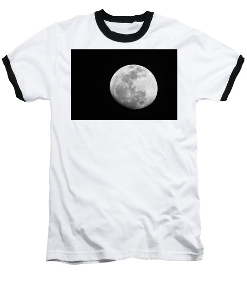 Waxing Gibbous Baseball T-Shirt