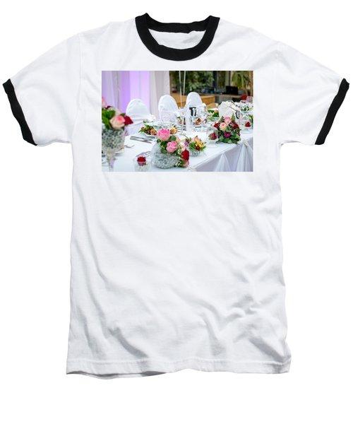 Wedding Table Baseball T-Shirt