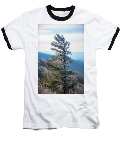 Wind Shaped Baseball T-Shirt