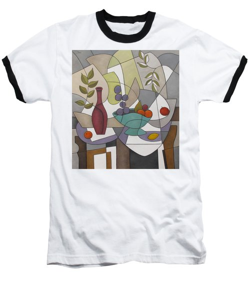 Wine And Fruit Baseball T-Shirt