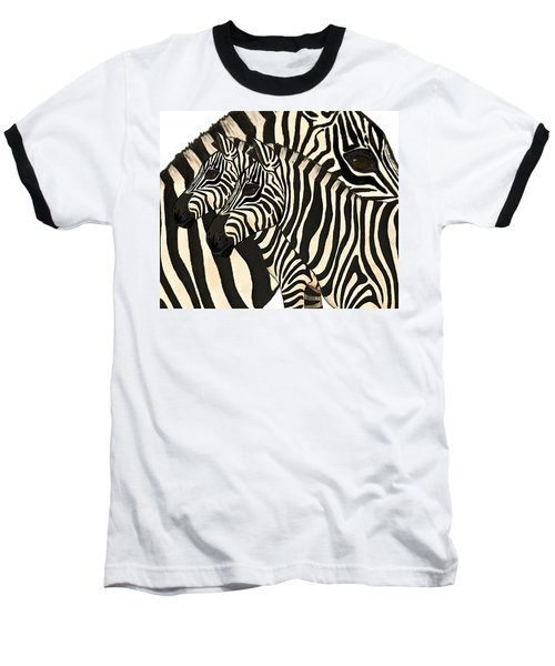 Z Is For Zebras Baseball T-Shirt