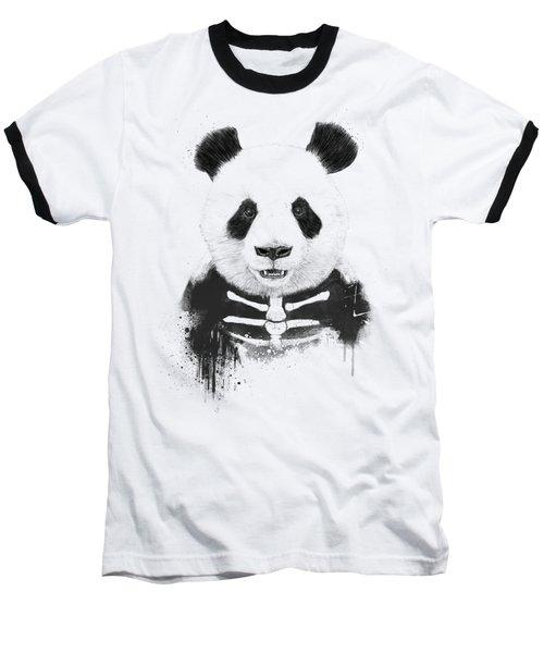 Zombie Panda Baseball T-Shirt