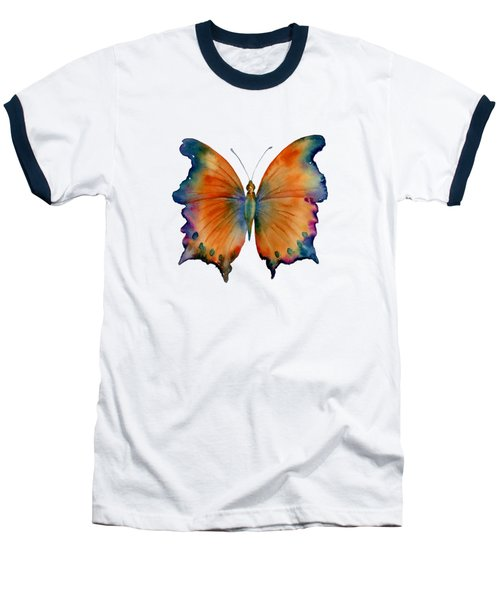 1 Wizard Butterfly Baseball T-Shirt by Amy Kirkpatrick